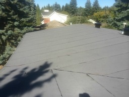Residential Low Slope Roof