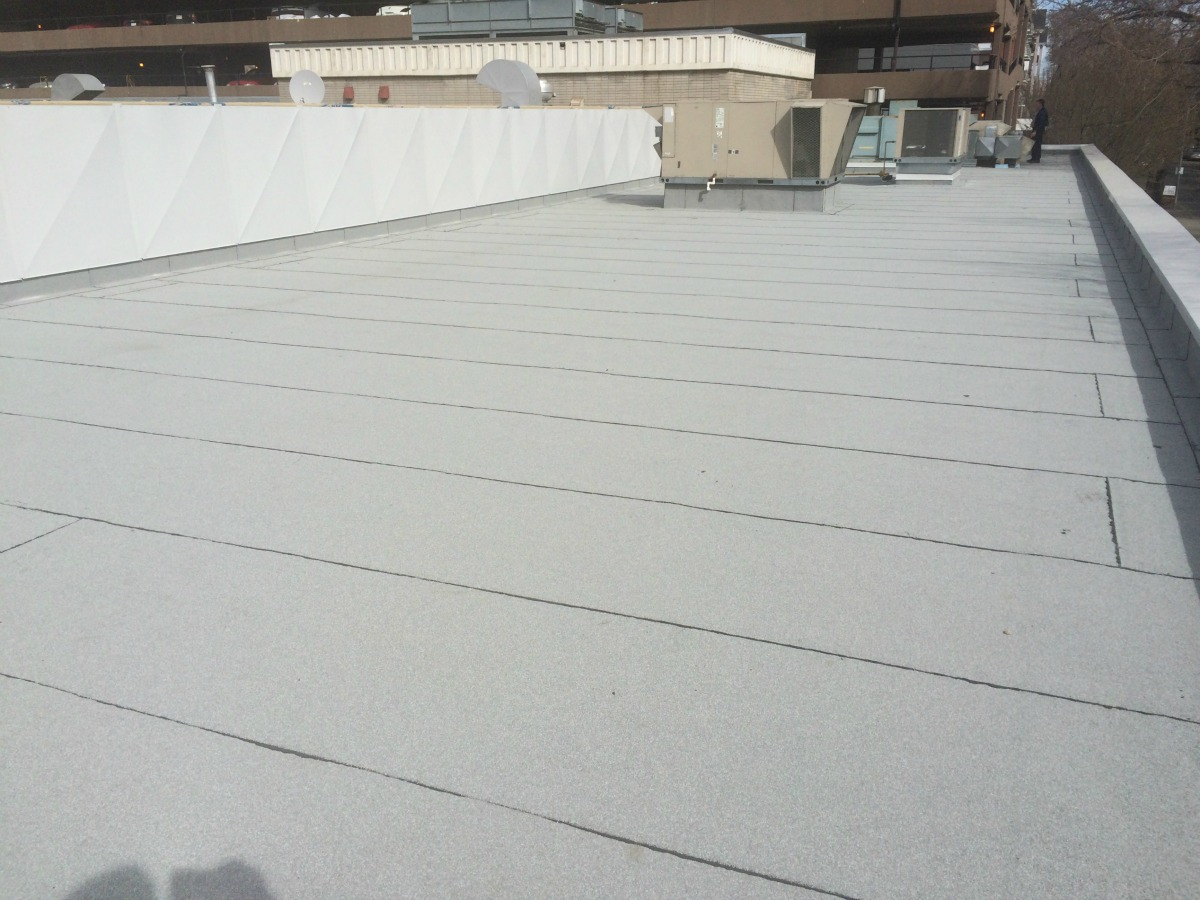 Td Bank Flat Roof Replacement Commercial Flat Roofing