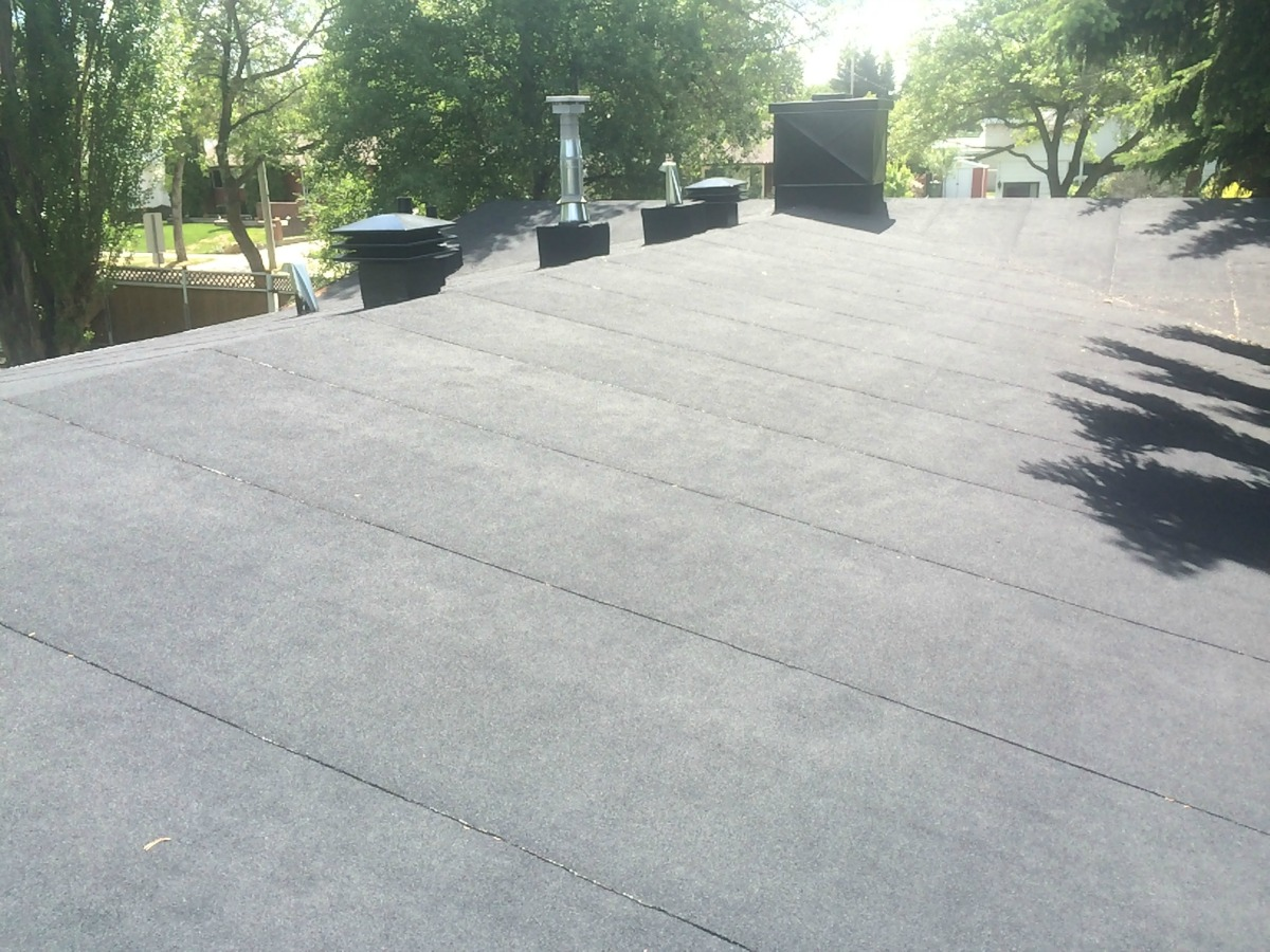 Residential Low slope roof in St Albert